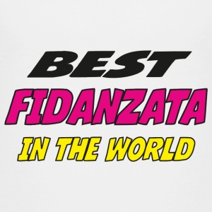 Best fidanzata in the world Camisetas - Camiseta premium adolescente