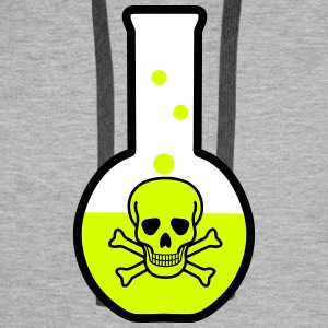 Test tube, chemistry Sweaters - Mannen Premium hoodie