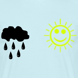 Rain and sunshine Tee shirts - T-shirt Homme