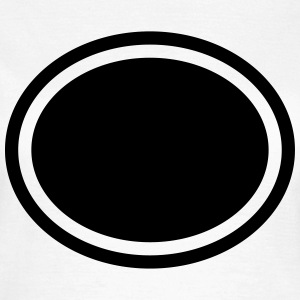 Ellipse, Background T-shirts - Dame-T-shirt