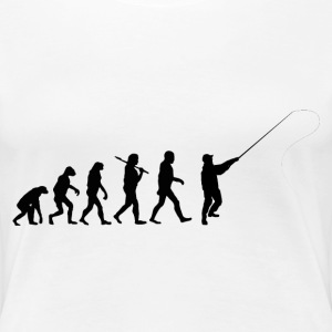 Evolution Angeln - Angler T-Shirts - Frauen Premium T-Shirt