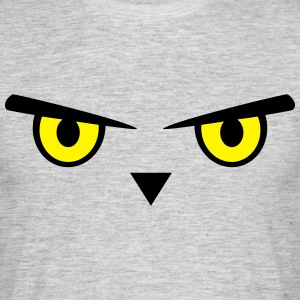 Owl, eyes, bird Tee shirts - T-shirt Homme