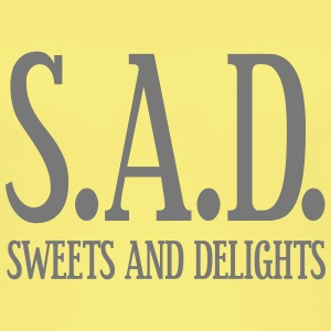 SAD - Sweets and Delights - Wortspiel Tops - Frauen Bio Tank Top