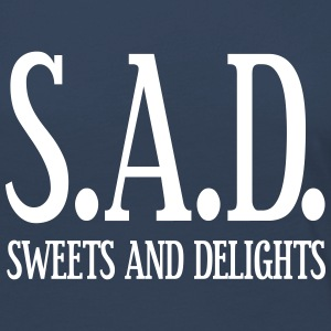SAD - Sweets and Delights - Wortspiel Langarmshirts - Frauen Premium Langarmshirt
