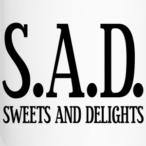 SAD - Sweets and Delights - Wortspiel Tassen & Zubehör - Thermobecher