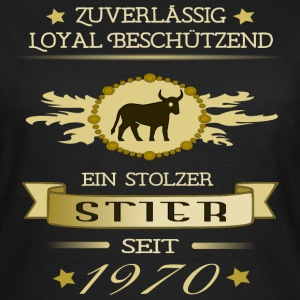 Stier 1970 T-Shirts - Frauen T-Shirt