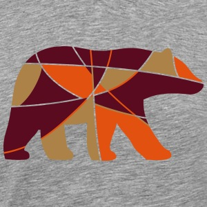 color bear T-Shirts - Men's Premium T-Shirt