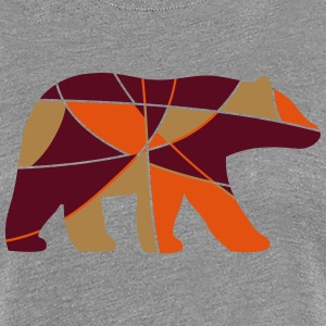 color bear - Frauen Premium T-Shirt