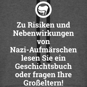 Risiken Nebenwirkungen Antifaschist Demonstration Pullover & Hoodies - Unisex Baseball Hoodie
