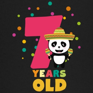 Seven Years seventh Birthday Party Panda Sdbcc Baby Long Sleeve Shirts - Baby Long Sleeve T-Shirt