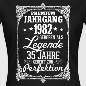 35-1982-legend - perfection - 2017 - DE T-Shirts - Women's T-Shirt