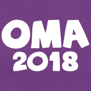 Oma 2018 T-Shirts - Frauen T-Shirt