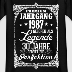 30-1987-legend - perfection - 2017 - DE Shirts - Kids' T-Shirt