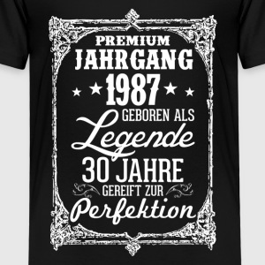 30-1987-legend - perfection - 2017 - DE Shirts - Kids' Premium T-Shirt
