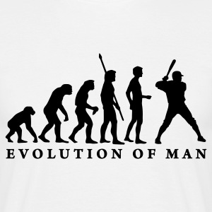 evolution_baseball_b_1c T-shirts - Mannen T-shirt