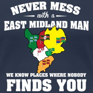 Countries East Midland T-Shirts - Women's Premium T-Shirt