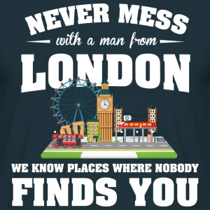 Cities London T-Shirts - Men's T-Shirt