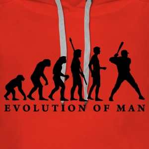 evolution_baseball_b_1c Sweat-shirts - Sweat-shirt à capuche Premium pour femmes