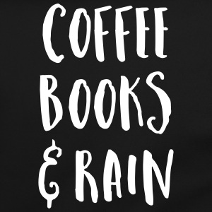 Coffee, Books & Rain Quote Bags & Backpacks - Shoulder Bag