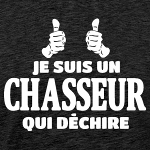 Chasseur Tee shirts - T-shirt Premium Homme