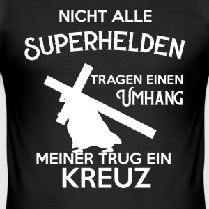 Jesus Christentum T-Shirts - Männer Slim Fit T-Shirt