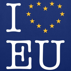 I Love EU (Europe) Bags & Backpacks - Tote Bag
