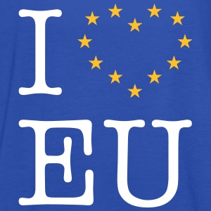 I Love EU (Europe) Tops - Women's Tank Top by Bella