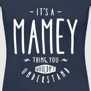 Mamey Thing - Women's Premium T-Shirt