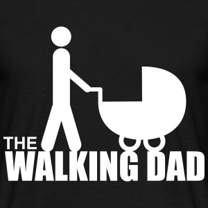 The walking dad,lustig,papa, spruche,zombie - Männer T-Shirt