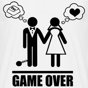 Game over, Couples - Men's T-Shirt
