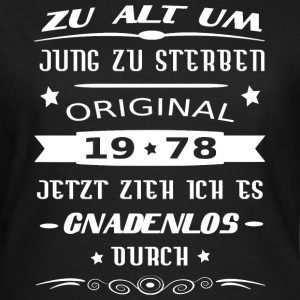 Original 1978 T-Shirts - Frauen T-Shirt