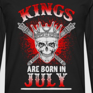 July - King - birthday - 3 - EN Long sleeve shirts - Men's Premium Longsleeve Shirt