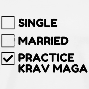 Krav Maga / Krav-Maga / Fight / Martial Art T-shirts - Herre premium T-shirt