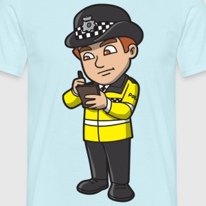 Police Officer - Men's T-Shirt
