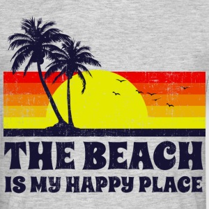 Beach is my happy place T-Shirts - Männer T-Shirt