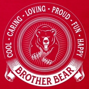Fiercely Protective Brother Bear Shirts - Kids' Organic T-shirt