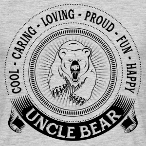 Fiercely Protective Uncle Bear T-Shirts - Men's T-Shirt