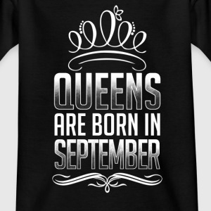 September - Queen - birthday - 3 - EN Shirts - Kids' T-Shirt