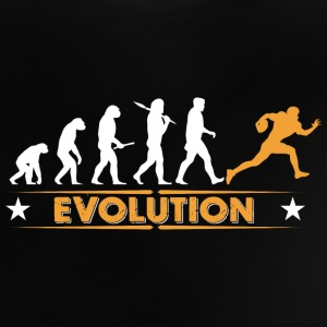 American Football - Evolution orange/weiss Baby T-Shirts - Baby T-Shirt