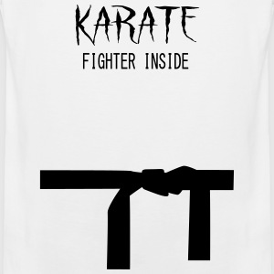 Karate Fighter Inside Sportbekleidung - Männer Premium Tank Top