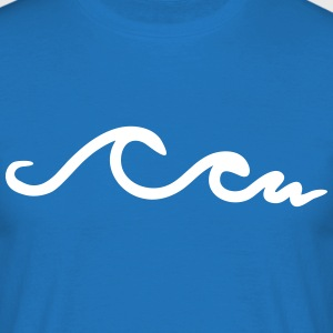 waves, wave, ocean T-shirts - Mannen T-shirt