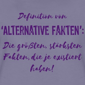 Alternative Fakten - Vektor 1C T-Shirts - Frauen Premium T-Shirt
