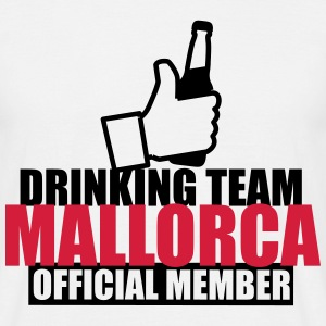 Drinking team mallorca  - Men's T-Shirt