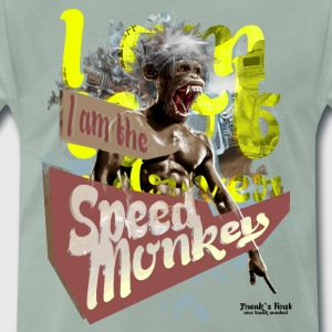 speed monkey racing T-Shirts - Männer Premium T-Shirt