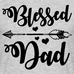 Blessed Dad T-Shirts - Men's T-Shirt
