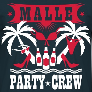 15 Malle Party Crew Palmen Sex Beer Bier T-Shirt - Männer T-Shirt