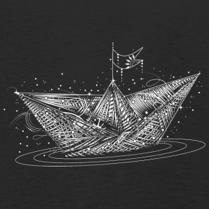 Paper boat  Long Sleeve Shirts - Kids' Premium Longsleeve Shirt