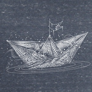 Paper boat  Hoodies & Sweatshirts - Men's Sweatshirt by Stanley & Stella