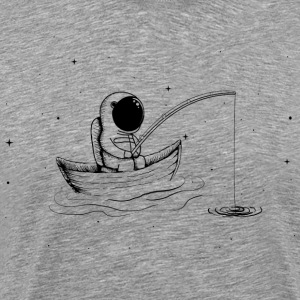 Fishing In Space - Männer Premium T-Shirt