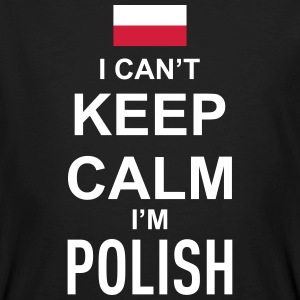 I can't keep calm i'm polish T-Shirts - Männer Bio-T-Shirt